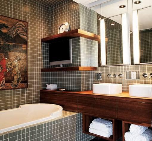 Bad-planning: Small Gray Bathroom Inspiration » Converting A Church